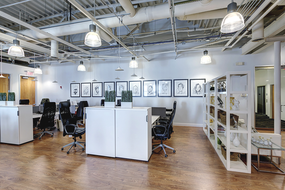 Atlanta Warehouse Corporate Design Work Stations