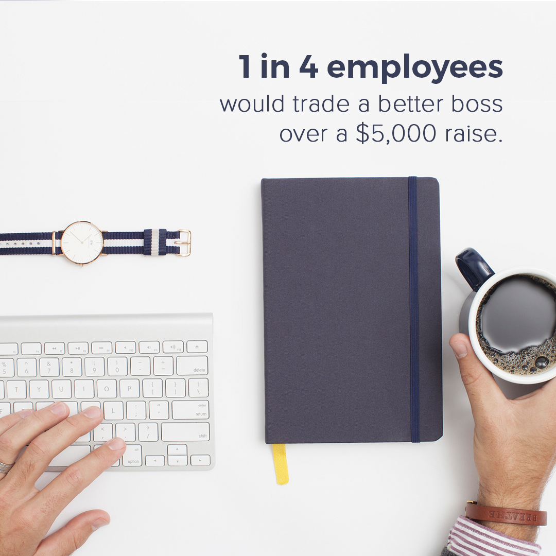 People Want a Better Boss Over Free Snacks